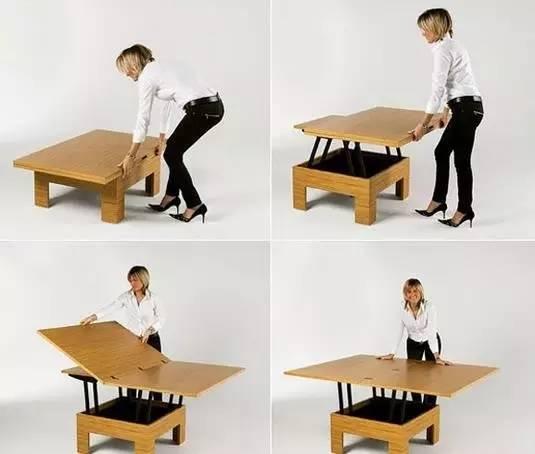创意折叠家具,不只是便利一点点!图片