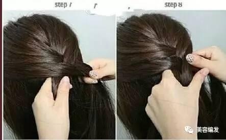 短发发型编发教程,蜈蚣辫的编法图解