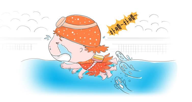 蛙泳,自由泳,仰泳,蝶泳的标准动作都是什么?图片