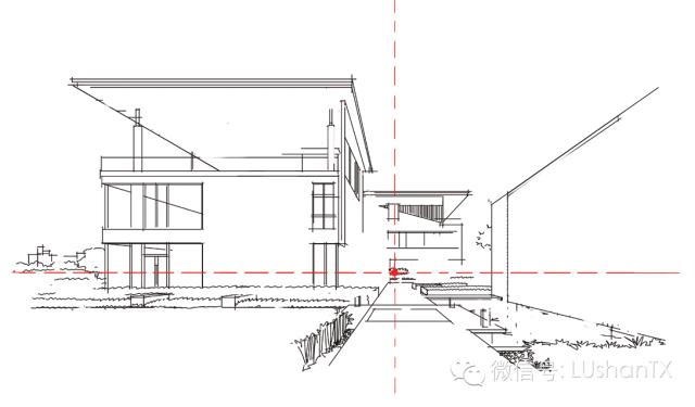 建筑手绘透视理解及实践