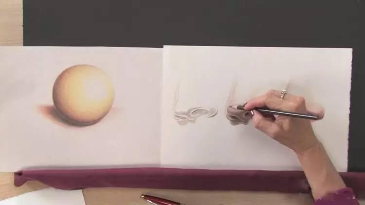 限时免费领取!《超高清写实彩铅手绘人物肖像五官基础自学视频教程》