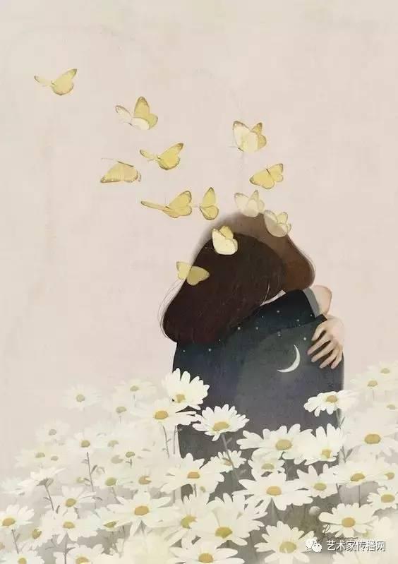 佛系少女口风琴谱子-纯净如水的森系女孩100张