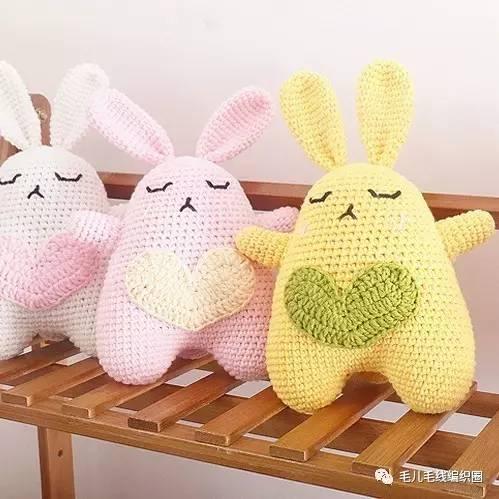 【图解】兔兔那么可爱,钩一个一起玩儿_搜狐宠物_搜狐