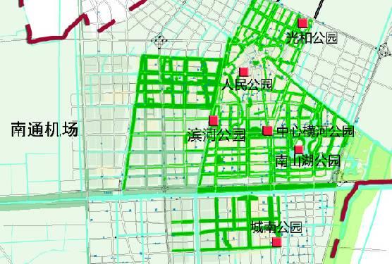 散步纳凉好去处,南通将规划建设31个综合公园!有你家
