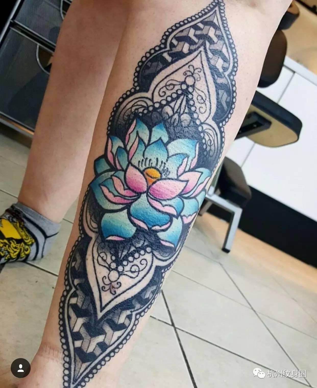 tattoo | 纹身素材:莲花