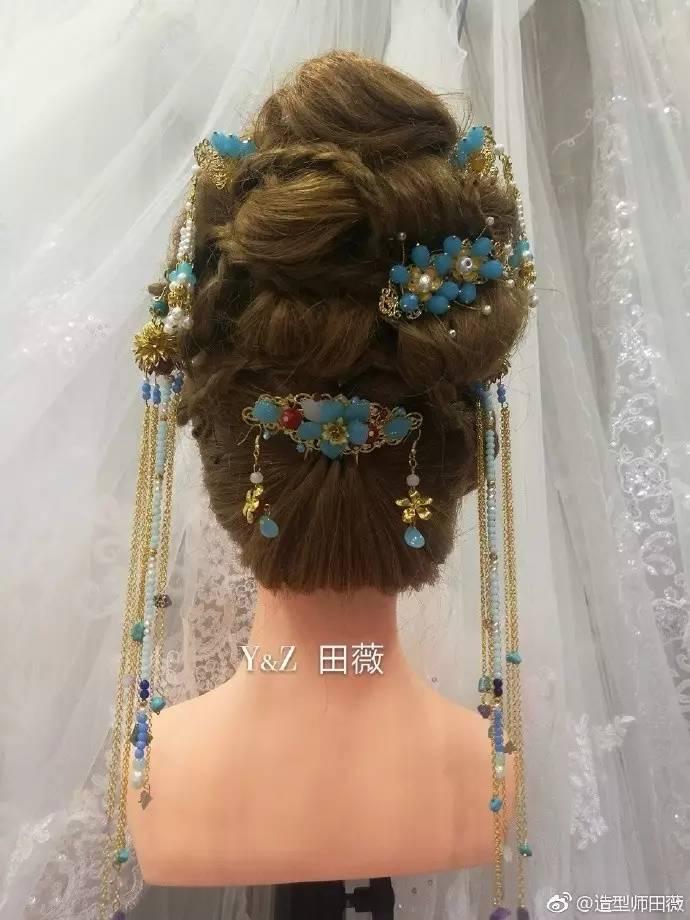 韩式编发简单发型扎法,30款韩式新娘编发&中式新娘造型,哪一款是你的