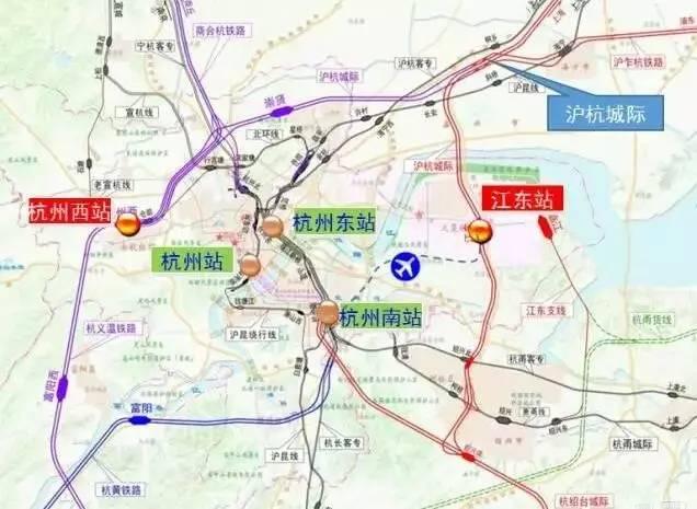 重磅 规划建设高铁机场站,江东站,地铁过江10分钟 下沙要逆袭