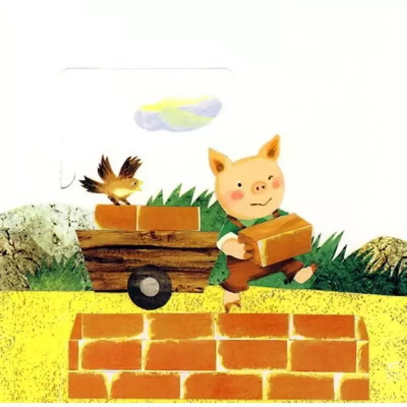 童话故事《三只小猪》丨你想做哪只小猪呢?