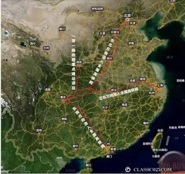 重庆十三五高铁规划图