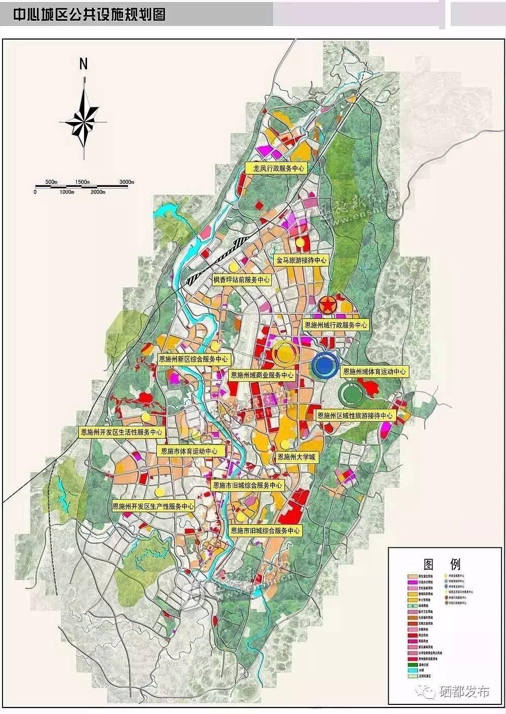 作为州域中心城市,恩施市又有新动作图片
