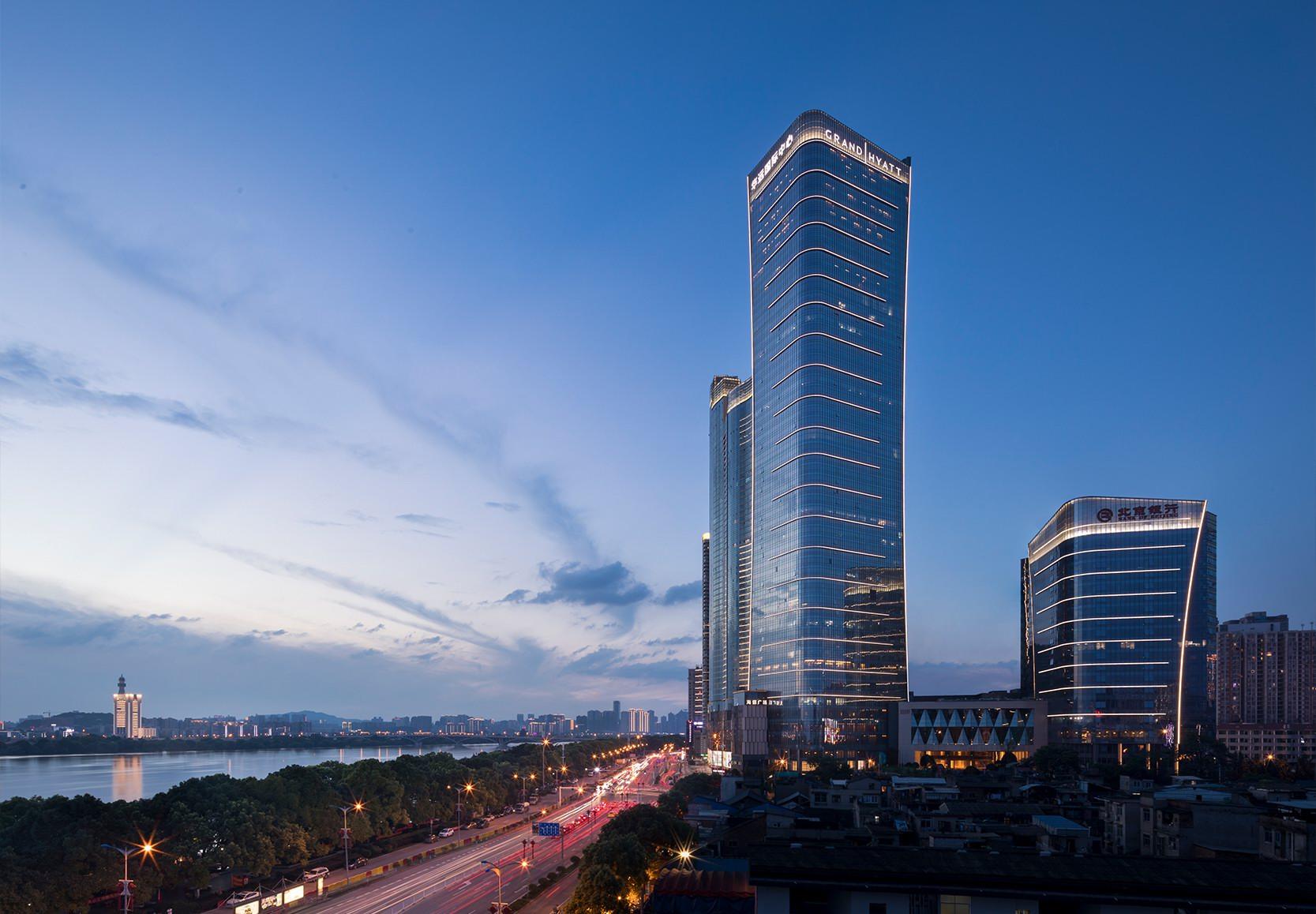 长沙君悦酒店8月1日盛大揭幕