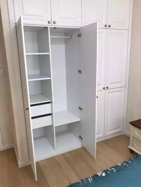 衣柜内部结构图,快来收藏!