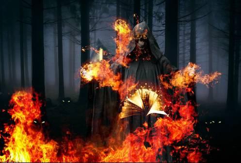 我的地狱失火