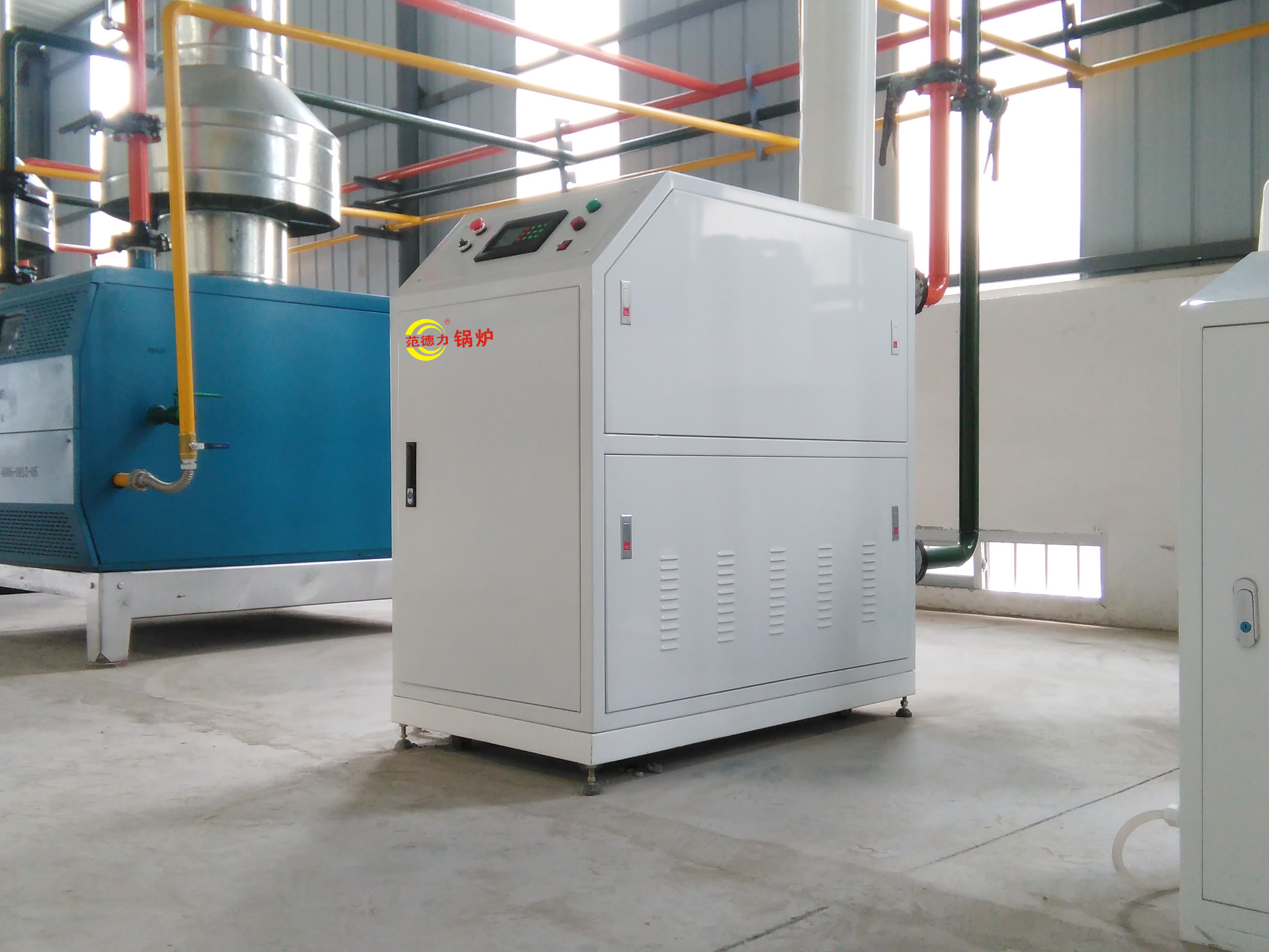 燃气全预混冷凝低氮模块锅炉燃烧排放