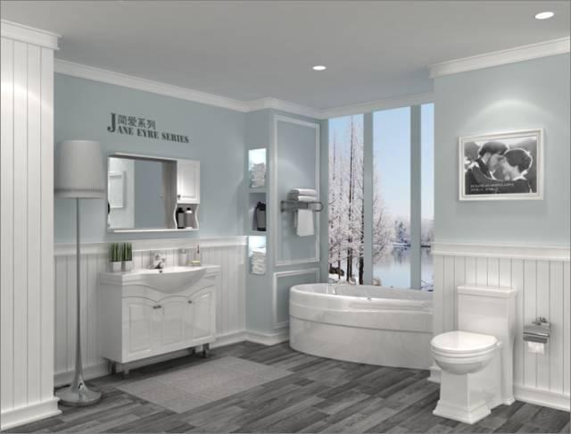 卫浴店装修布局图