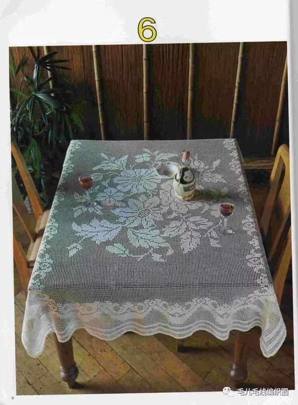 【图解】多款蕾丝桌布