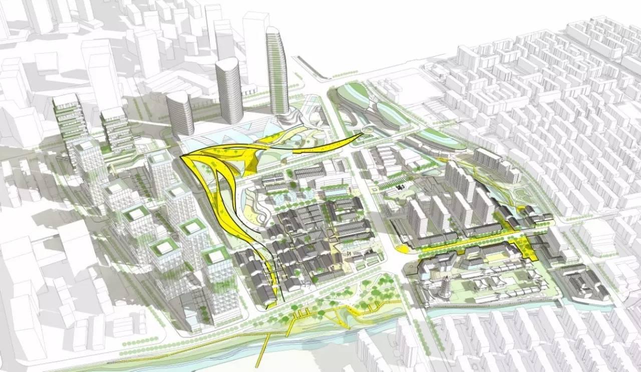 同济学生城市设计作品方案一:全时激活·三重如一