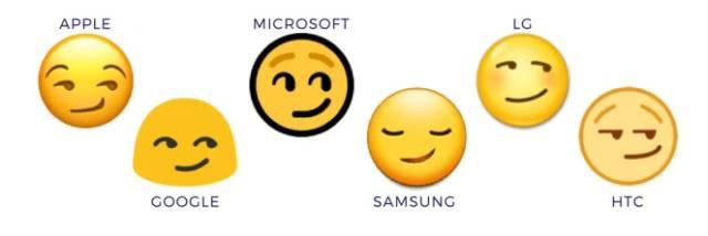 苹果的假笑表情像我们日常会有的,那种贱贱的感觉.图片