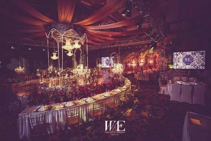 婚礼精选|浪漫复古的宫廷婚礼,一场奢华的欧式盛宴