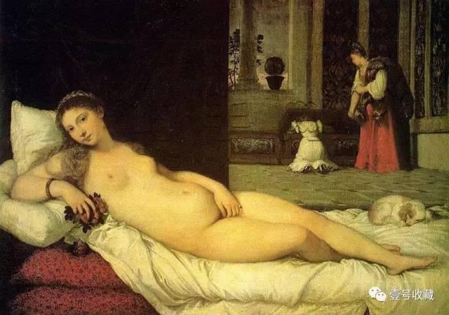 《乌尔宾诺的维纳斯》   《维纳斯与女仆》   《维纳斯与丘比特》   《维