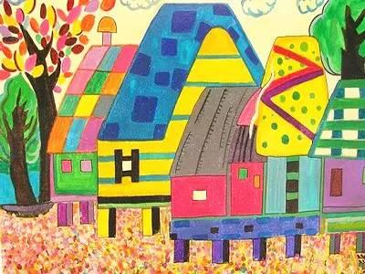 【童眼】我爱我富饶美丽的家乡——冶山图片
