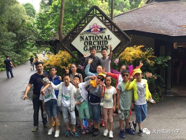 游学,新加坡 2017天台县实验小学赴新加坡国际夏令营