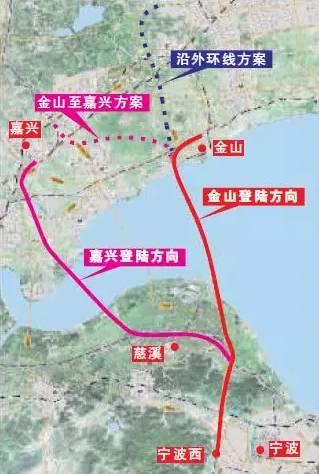 杭绍台高铁二期规划图