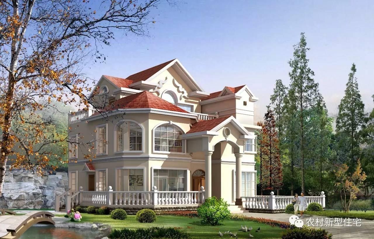 面宽9米别墅设计图