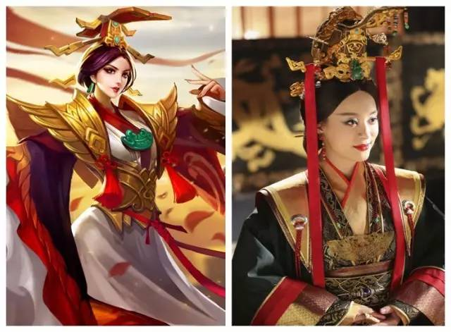 紫霞仙子 露娜 vs 古力娜扎