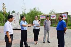 赵县县领导实地调研督导文明城创建工作图片