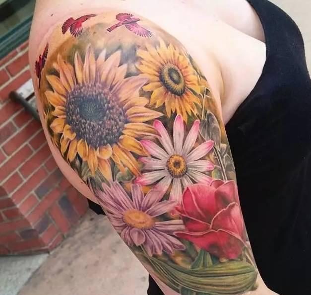 向日葵 | 纹身
