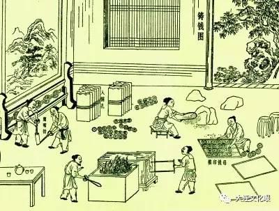 古代工匠手绘图