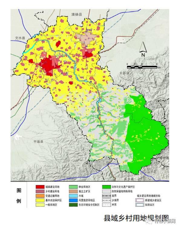 定边县城区最新规划图