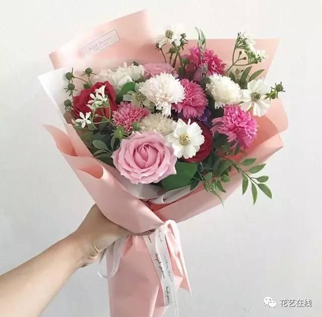 如何才能包出漂亮的韩式花束?图片