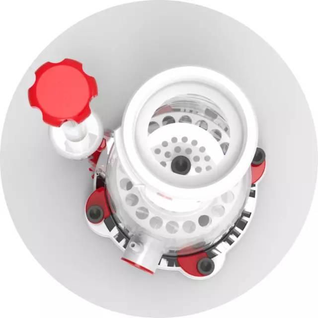 水泵内置紧凑型设计   DSP蛋分专用水泵运行静音,特别是大大降低了图片