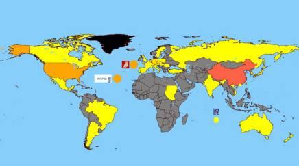 打印英国地图全图