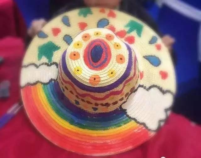 亲子手绘草帽|我的帽子我做主!
