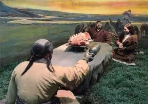唐宋时代曾经横行漠北的契丹人,发型是这样的: 是不是比清朝人的发型图片