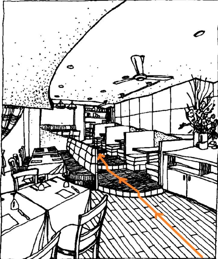 建筑线稿手绘组合