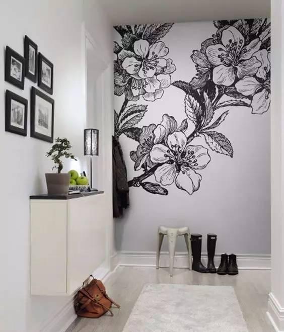 好看简单的墙绘图片