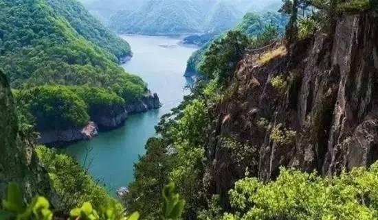 本溪关山湖风景区