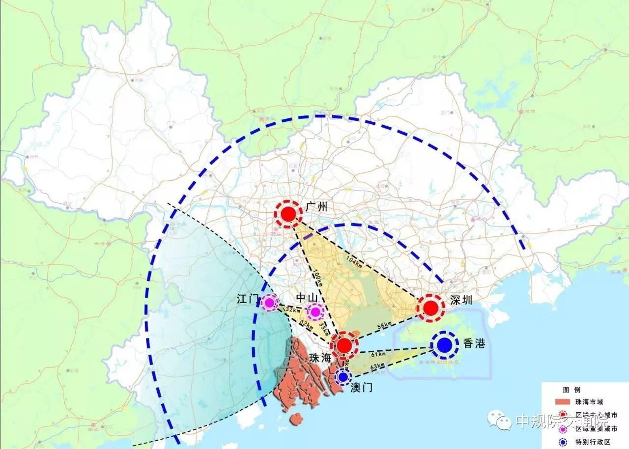 作为区域中心城市,珠海的城镇化和区域合作在图片