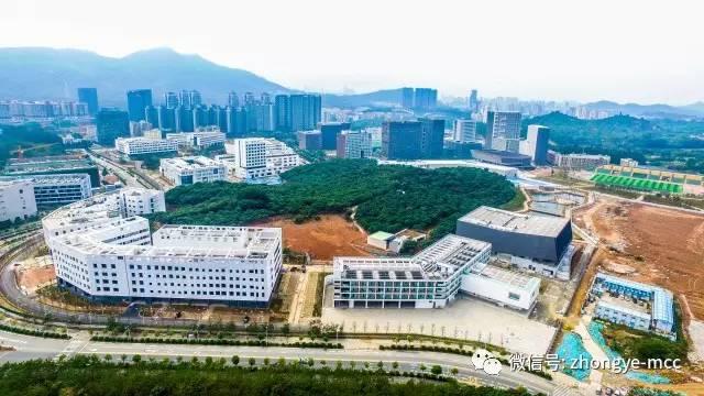 高校基建 深圳大学西丽校区 BIM助力打造的 山水校园