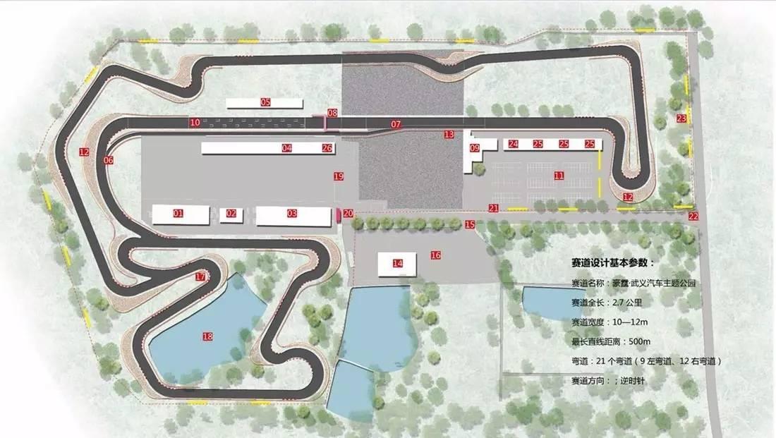 赛车场平面图