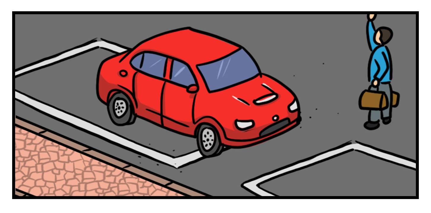 超过时间占位就会被处罚; 3,逆向停车,靠路边的停车位都是右边靠边