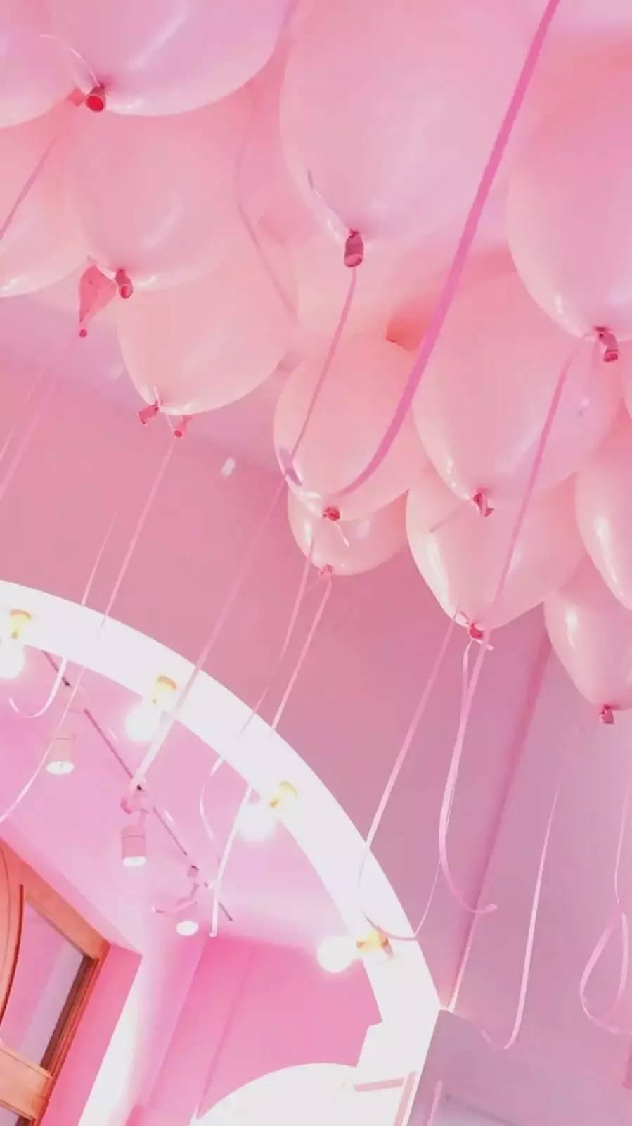 萌系&个性#粉色少女心壁纸图片