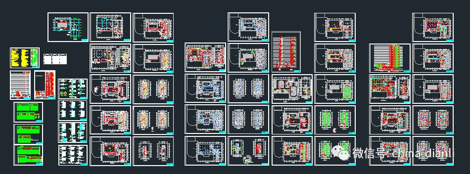 次原理图包括面板部分板后接线图,照明,加热接线图,受总柜原理图,排风