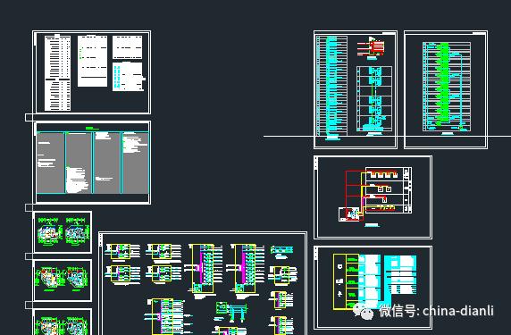 电力安装设计图纸说明