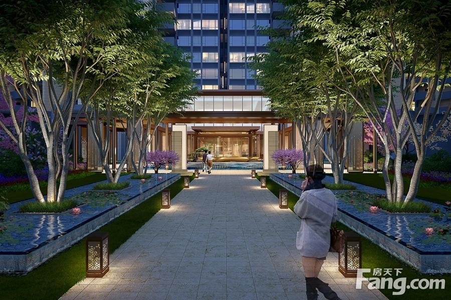 新中式风格成主流 海滨路38.56亩住宅用地全新曝光图片