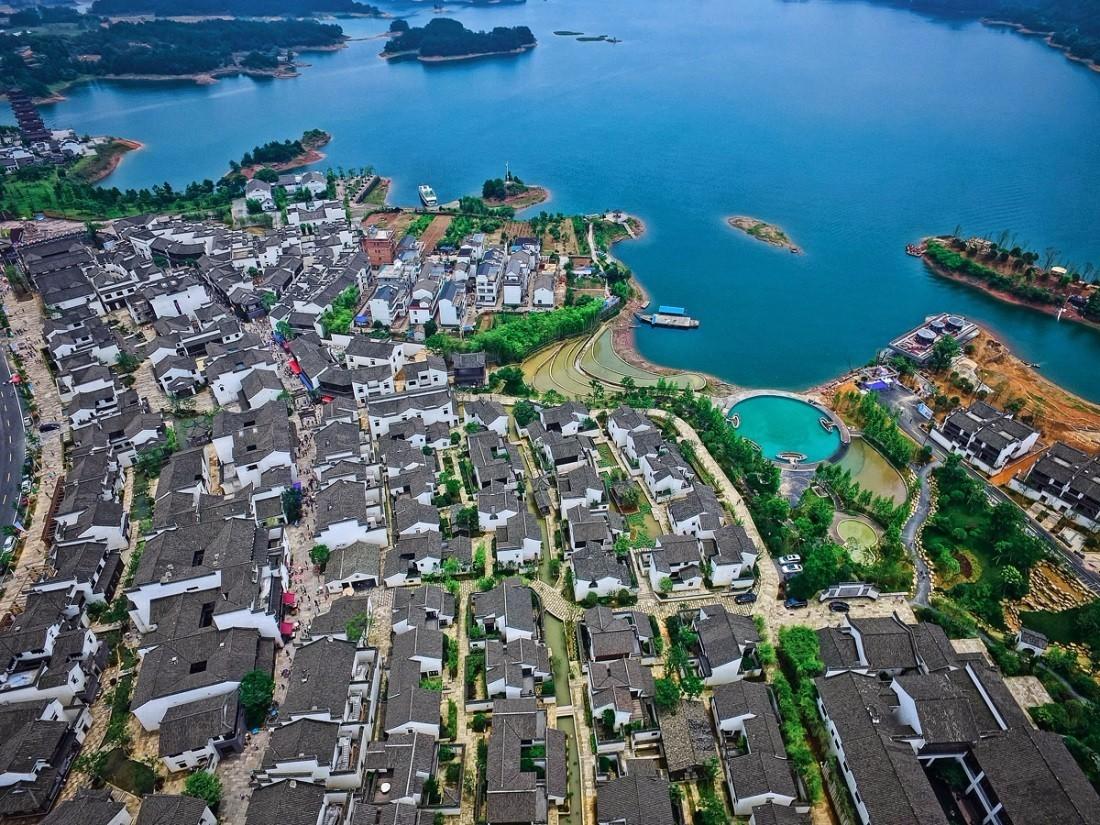 避暑首选   千岛湖文渊狮城,简直美哭了,更有千岛湖绿道骑行哦